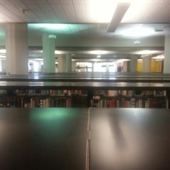 Photo taken at Faulk Central Library, Austin Public Library by Erick R. on 12/1/2014