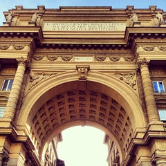 Photo taken at Piazza della Repubblica by Rick B. on 5/30/2013