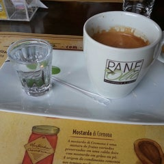 Photo taken at PaneOlio Ristorante & Caffe by Sandro F. on 5/24/2013