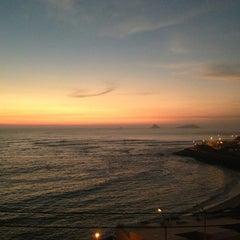 Photo taken at Playa Señoritas by Luciana J. on 3/8/2013