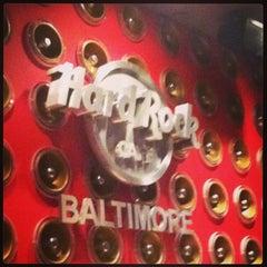 Photo taken at Hard Rock Cafe Baltimore by Jim H. on 4/22/2013