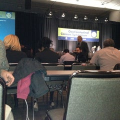 Photo taken at San Francisco's Moscone Center by Ramiro T. on 1/24/2013