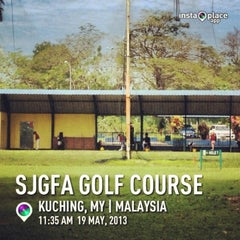 Photo taken at Sarawak Junior Golf Foundation & Academy (SJGFA) by amet a. on 5/19/2013