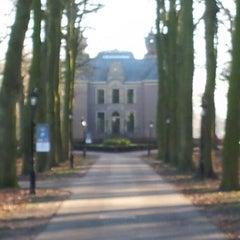 Photo taken at Kasteel Oud Poelgeest by Barbera H. on 1/13/2013