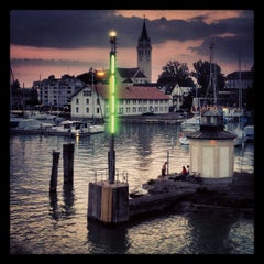 Photo taken at Romanshorn Hafen by Andreas H. B. on 7/10/2013