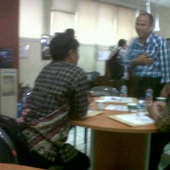 Photo taken at Universitas Mercu Buana by Agus S. on 11/11/2012