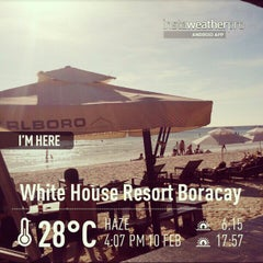 Photo taken at White House Resort Boracay by E* A. on 2/10/2013