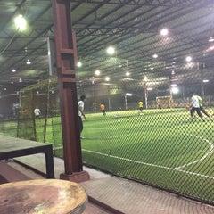 Photo taken at Futsal Masterscaff by Muhamad S. on 1/26/2016