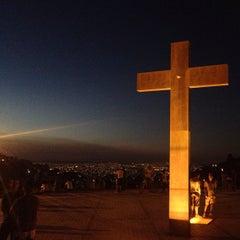 Photo taken at Praça do Papa (Governador Israel Pinheiro) by Nathalia M. on 5/6/2013