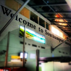 Photo taken at Southampton Airport (SOU) by Adam P. on 12/27/2012