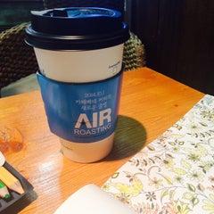 Photo taken at Caffé bene by Ahram C. on 10/20/2014