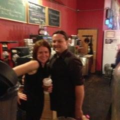 Photo taken at Michelangelo's Coffee & Wine Bar by Luke R. on 11/10/2012
