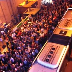 Photo taken at Zincirlikuyu Metrobüs Durağı by Boğaç G. on 10/15/2012
