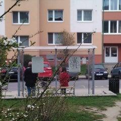 Photo taken at A. Kratochvíla (bus) by Karel Č. on 4/4/2014