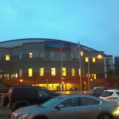 Photo taken at Androscoggin Bank Colisée by Brad F. on 10/19/2012