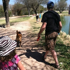 Photo taken at Ft Lowell Park by Kim B. on 3/31/2013