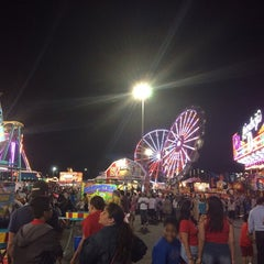 Photo taken at State Fair Meadowlands by Stephanie E. on 7/5/2014