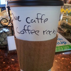 Photo taken at One Caffe Coffee by Ryan S. on 11/13/2012