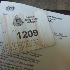 Photo taken at Immigration Department (Jabatan Imigresen) Presint 14 Branch by Anis Z. on 10/29/2012