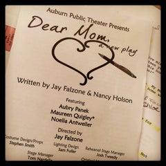 Photo taken at Auburn Public Theater by Aubry P. on 2/28/2015