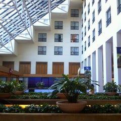 Photo taken at Hilton New Orleans Riverside by Allison C. on 11/3/2012