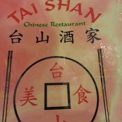 Photo taken at Tai Shan Restaurant by J V. on 3/24/2013