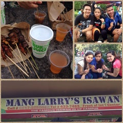 Photo taken at Mang Larry's Isawan by Margerie P. on 10/15/2013