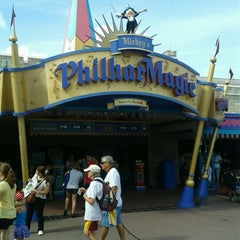 Photo taken at Mickey's PhilharMagic by Marissa G. on 9/29/2012