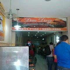 Photo taken at Dom Diego Restaurante - Matriz by Tiago M. on 9/17/2012