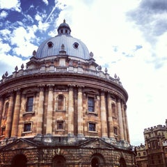 Photo taken at Bodleian Library by Ezgi Y. on 6/8/2013