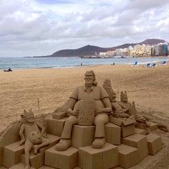 Photo taken at Playa Grande by José M. on 12/20/2014
