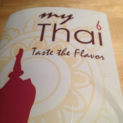 Photo taken at My Thai by Cindy P. on 3/24/2013