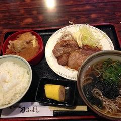 Photo taken at そば処乃ぶよし by Hiro f. on 3/19/2013