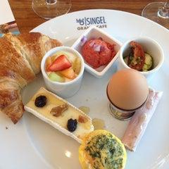 Photo taken at Grand Café De Singel by Laila D. on 5/4/2013
