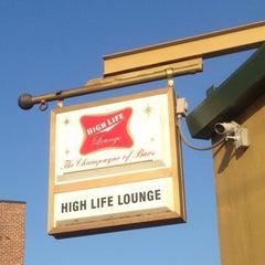 Photo taken at High Life Lounge by Luke W. on 5/11/2013