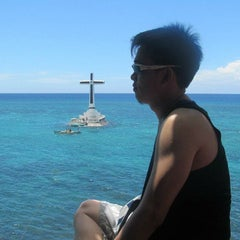 Photo taken at Sunken Cemetery Cross by Christian Sandor Y. on 7/28/2015