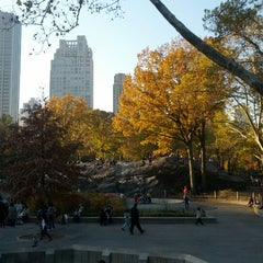 Photo taken at Heckscher Playground by André S. on 11/11/2012