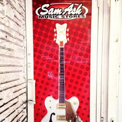Photo taken at Sam Ash Music by David B. on 1/4/2013