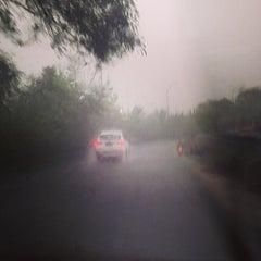 Photo taken at Jalan Tol Lingkar Luar Jakarta Seksi W2 Selatan (JORR W2 S) by anita r. on 6/13/2014
