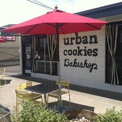 Photo taken at Urban Cookies Bakeshop by Michael S. on 5/25/2014