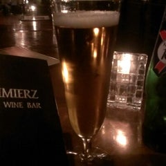 Photo taken at Kazimierz World Wine Bar by Michael C. on 11/15/2012