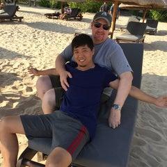 Photo taken at Le Méridien Shimei Bay Beach Resort & Spa by Jeff B. on 11/27/2014