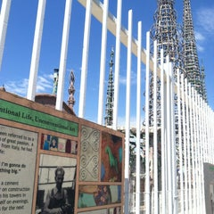 Photo taken at Watts Towers of Simon Rodia State Historic Park by Dallas M. on 7/12/2013
