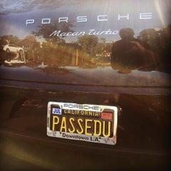 Photo taken at Porsche of Downtown LA by PASS A. on 2/12/2016
