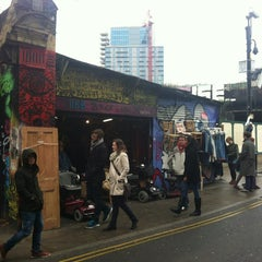 Photo taken at Brick Lane by Steven V. on 4/13/2013