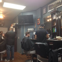 Photo taken at Bedford Barbers by Joey P. on 11/27/2013