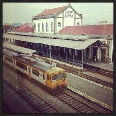 Photo taken at Estação Ferroviária de Viana do Castelo by Florent M. on 7/22/2013