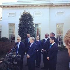 Photo taken at The Oval Office by Jeneba G. on 2/28/2014