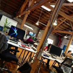 Photo taken at Foursquare SF by Matt H. on 1/14/2013