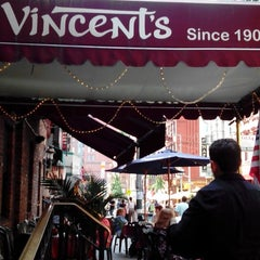Photo taken at The Original Vincent's by Ruben D. on 6/22/2013